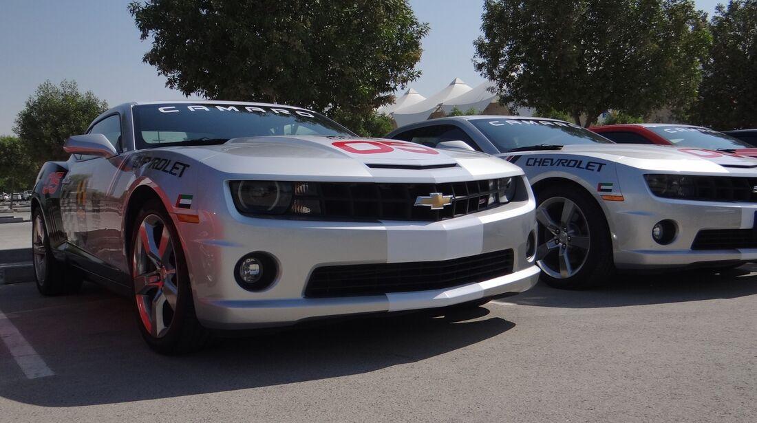 Chevrolet Camaro  - Scheich Autos - GP Abu Dhabi 2012