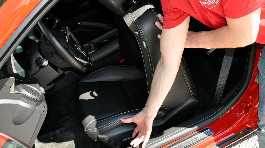 Chevrolet Camaro, Sitz