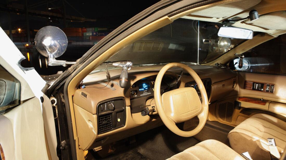 Chevrolet Caprice Police Cars, Cockpit