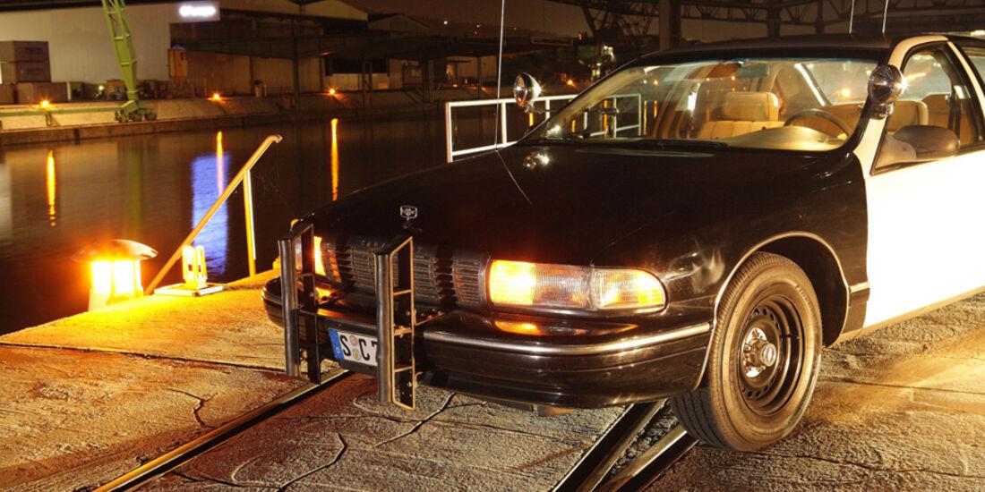 Chevrolet Caprice Police Cars, Kühlergrill