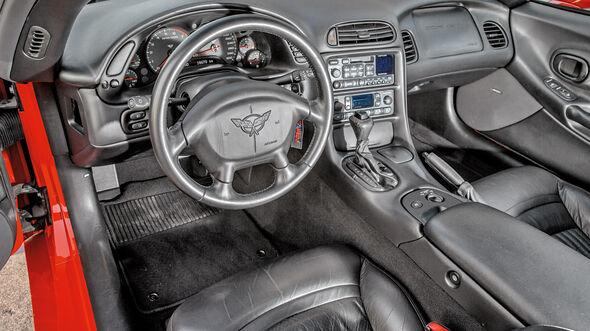 Chevrolet Corvette C5, Cockpit