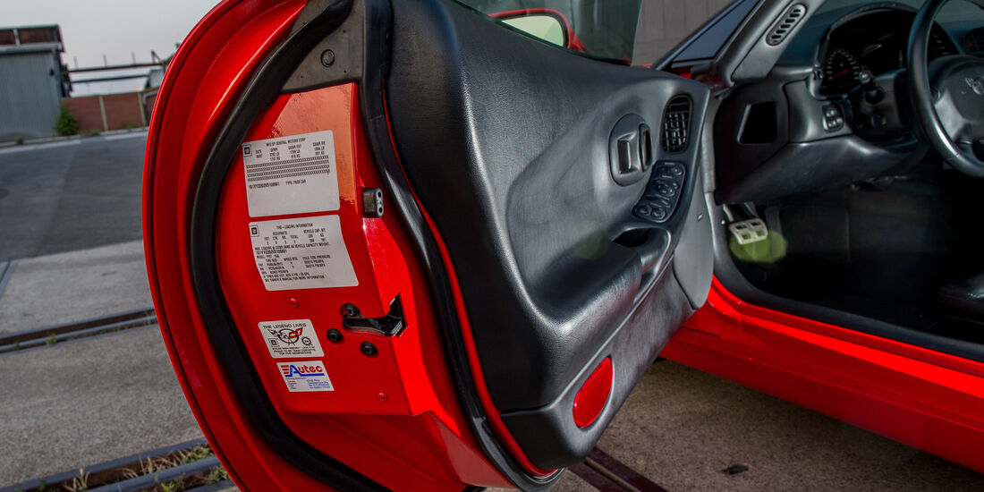 Chevrolet Corvette C5, Seitentür