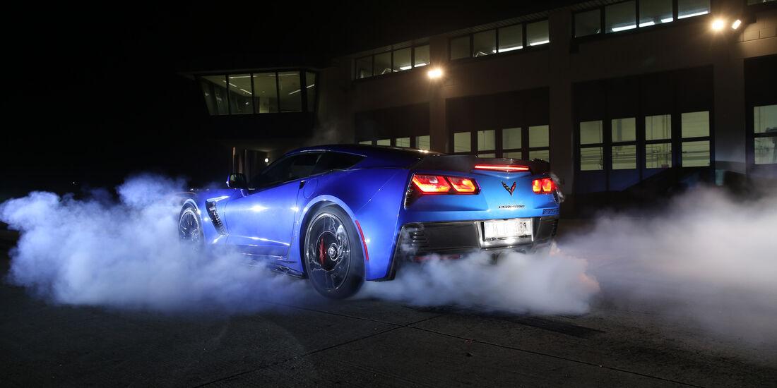 Chevrolet Corvette, Heckansicht