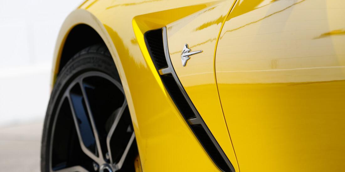 Chevrolet Corvette Stingray, Seitenführung