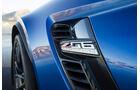 Chevrolet Corvette Z06, Fahrbericht, Entlüftungskiemen