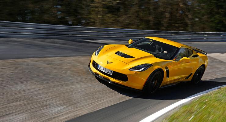 Corvette C7 Z06 Im Supertest Nordschleife Hockenheim Auto Motor