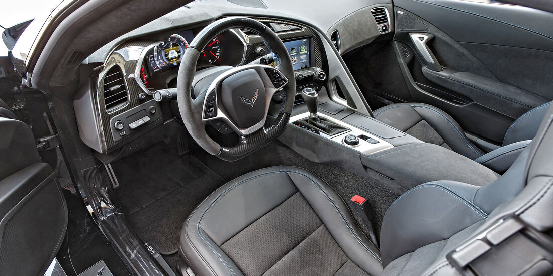 Chevrolet Corvette ZR1, Interieur