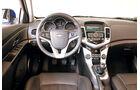 Chevrolet Cruze 2.0 LTZ, Cockpit, Lenkrad