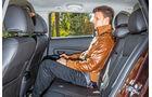 Chevrolet Cruze SW, Rücksitz, Beinfreiheit