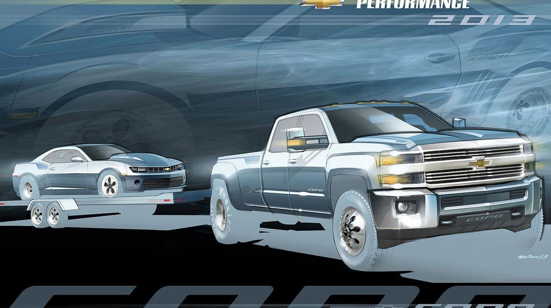 Chevrolet Silverado Concept Sema 2013
