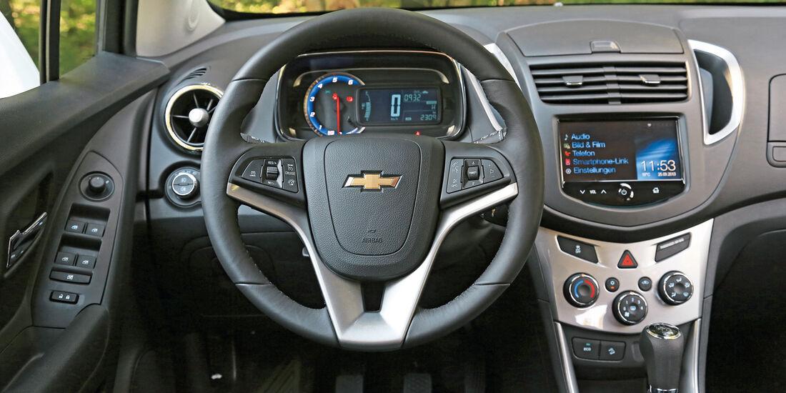 Chevrolet Trax 1.7D FWD LT, Cockpit