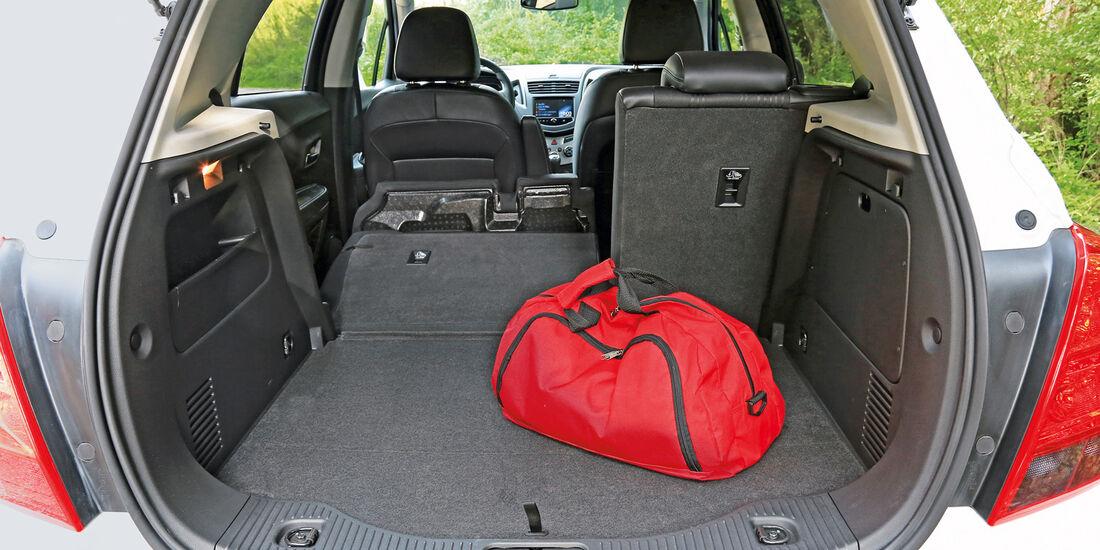 Chevrolet Trax 1.7D FWD LT, Kofferraum