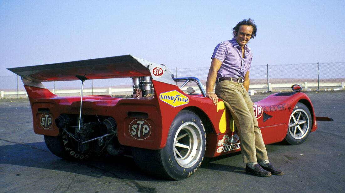 Chris Amon - Can-Am March 707 - 1970