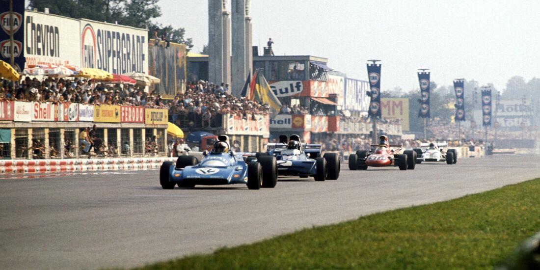 Chris Amon - Matra Simca MS120B - GP Italien 1971 - Monza