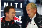 Christian Horner & Helmut Marko - Red Bull - Formel 1 - GP Belgien - Spa Francorchamps - 23. August 2013