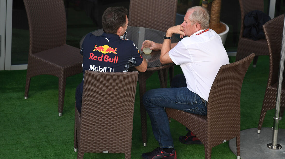 Christian Horner & Helmut Marko - Red Bull - Formel 1 - GP Russland - Sotschi - 29. April 2017