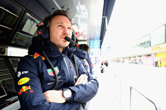 Christian Horner - Red Bull - Formel 1 - GP China - Shanghai - 13. April 2017