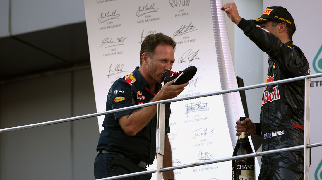Christian Horner - Red Bull - GP Malaysia 2016 - Sepang