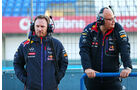 Christian Horner & Rob Marshall - Red Bull - Formel 1-Test - Jerez - 2. Februar 2015