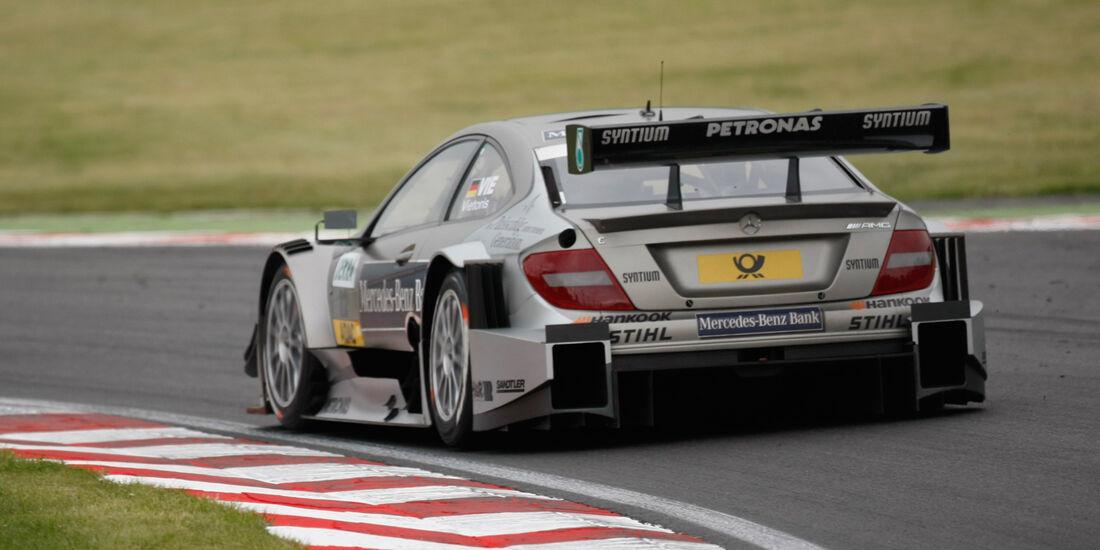 Christian Vietoris Mercedes DTM Brands Hatch 2012