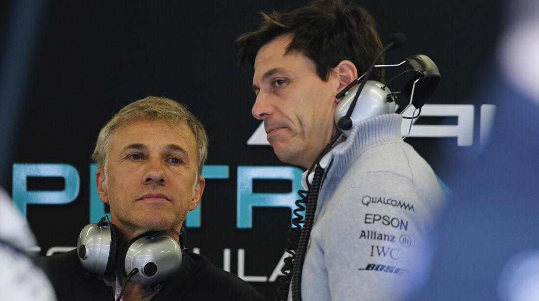 Christoph Waltz & Toto Wolff - Formel 1 - Austin - GP USA - 22. Oktober 2016