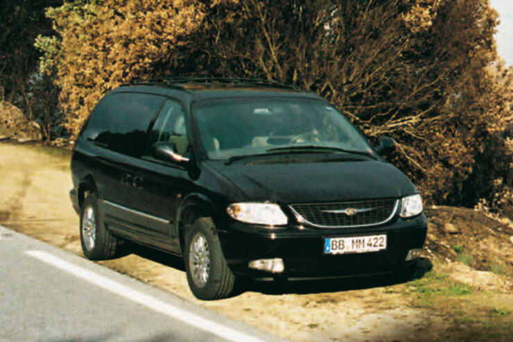 chrysler grand voyager 2 5 crd im test auto motor und sport. Black Bedroom Furniture Sets. Home Design Ideas