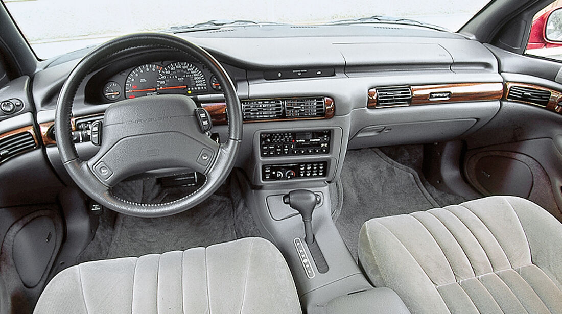 Chrysler Vision, Cockpit