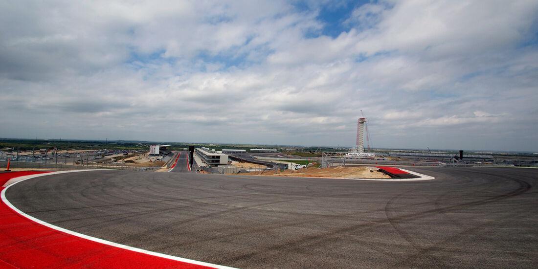 Circuit of the Americas Austin GP USA Oktober 2012