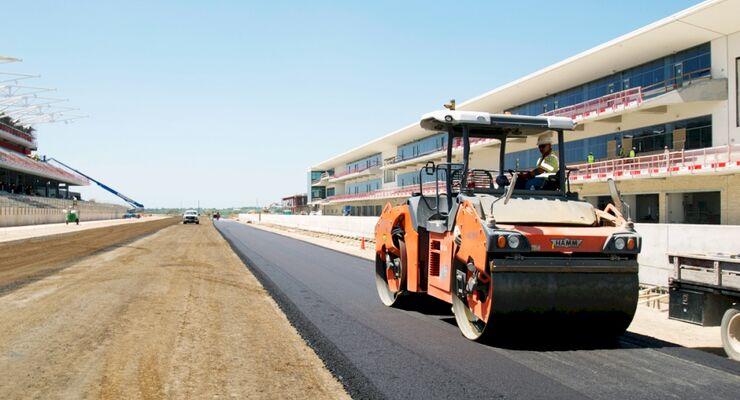 Circuit of the Americas Baustelle Austin Texas GP USA 2012