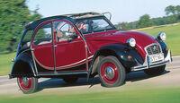 Citroën 2 CV, Seitenansicht