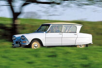 Citroën Ami 6, Seitenansicht