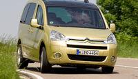 Citroën Berlingo 1.6 Multispace, Frontansicht