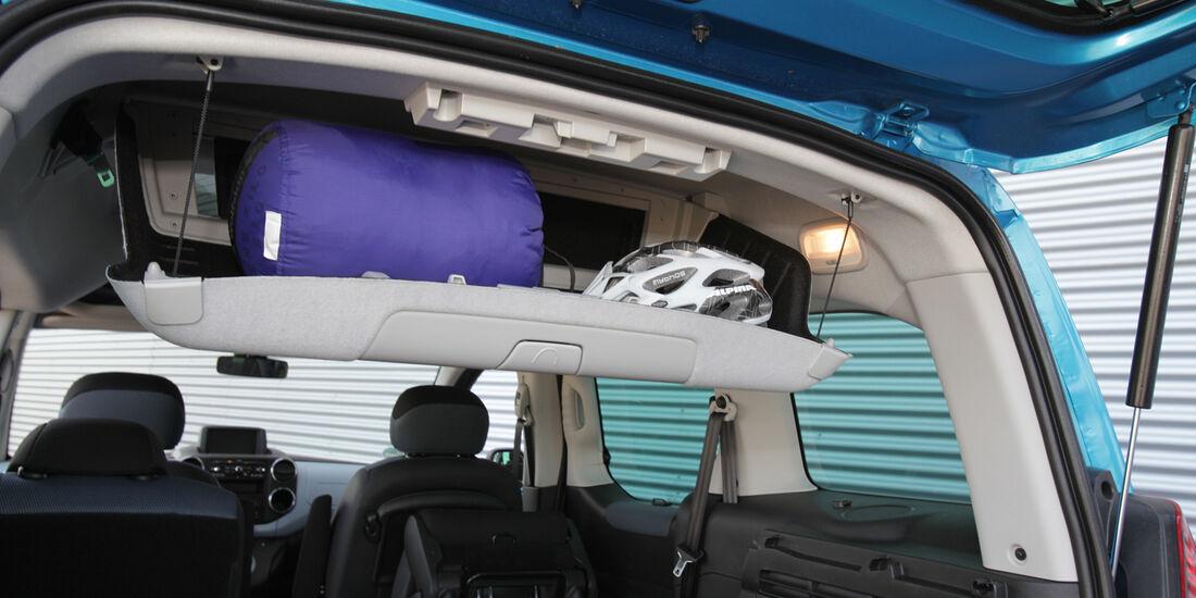 Citroën Berlingo, Ablagefach