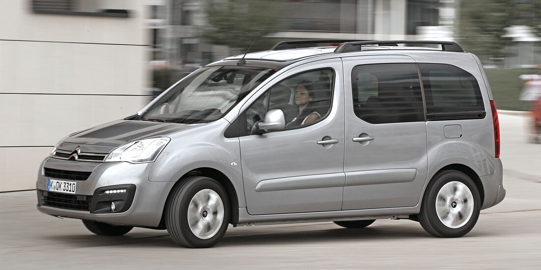 Citroën Berlingo, Seitenansicht