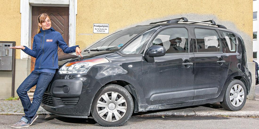 Citroën C3 Picasso, Seitenansicht, Anna Matuschek