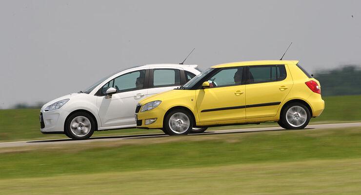 Citroën C3 Vti 95 Und Skoda Fabia 12 Tsi Sport Im Test Auto Motor