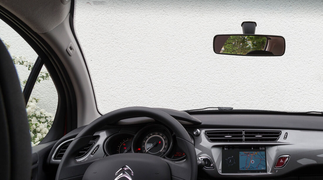 Citroën C3 VTi 82, Cockpit