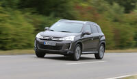 Citroën C4 Aircross 150 HDi AWD, Frontansicht