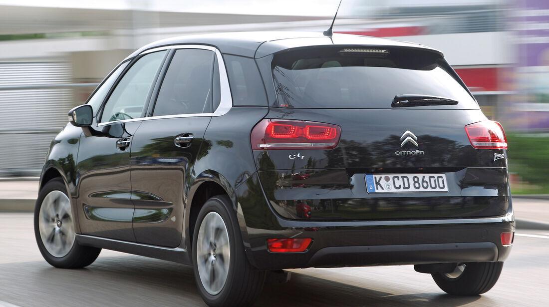 Citroën C4 Picasso E-HDi 115, Heckansicht