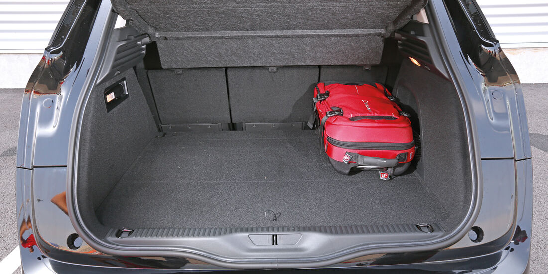 Citroën C4 Picasso E-HDi 115, Kofferraum, Ladefläche