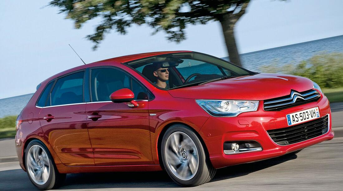 Citroën C4, Seitenansicht
