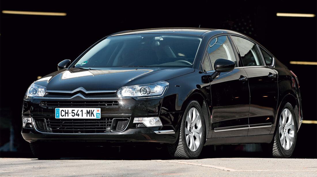 Citroën C5, Frontansicht