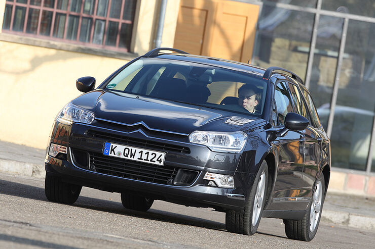 Citroën C5 Tourer, Frontansicht