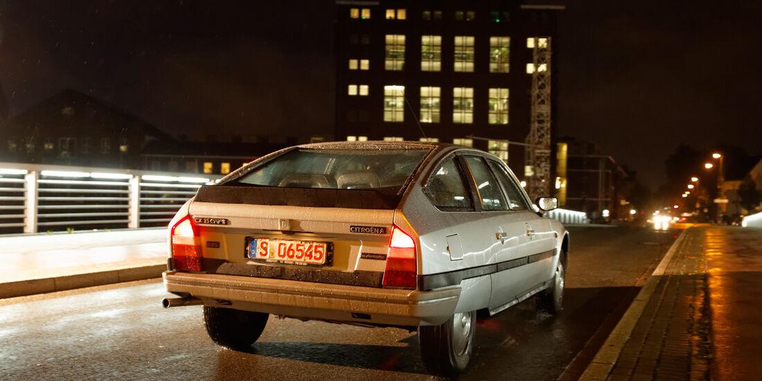 Citroën CX 25 GTI, Heckansicht