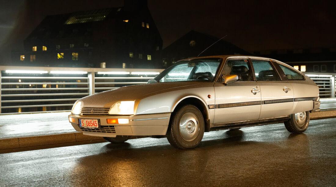 Citroën CX 25 GTI, Seitenansicht
