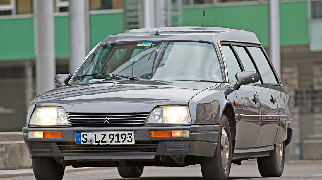 Citroën CX 25 TRD Turbo 2 Break, Frontansicht
