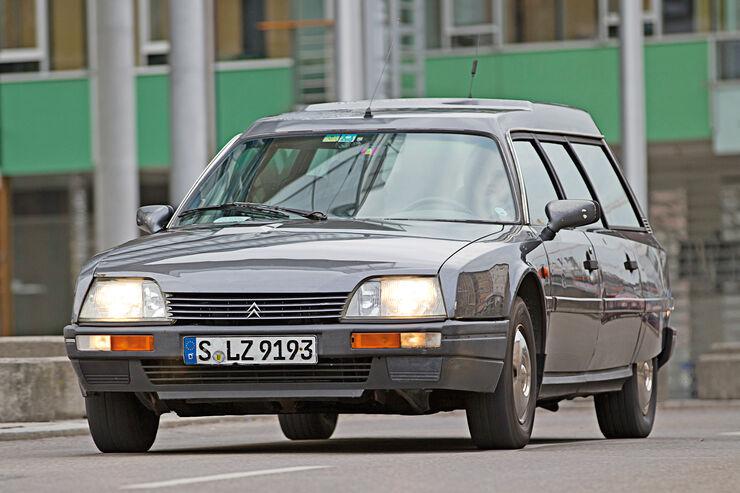 Citroën CX Break/Familiale, Frontansicht