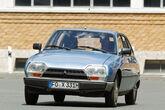 Citroën GS/GSA, Frontansicht