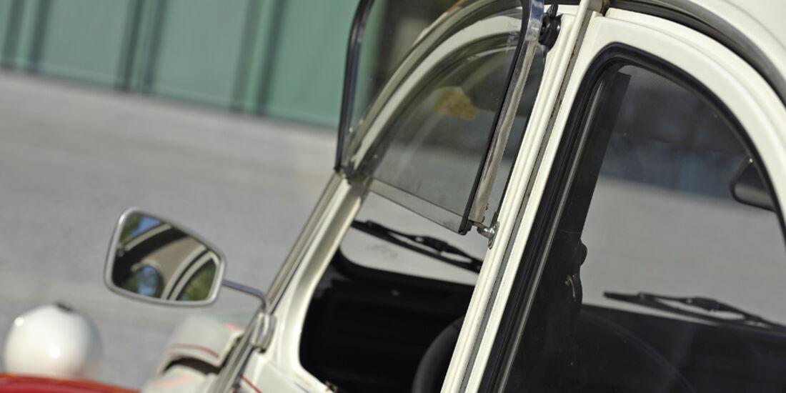 Citroen 2 CV 6, Seitenfenster