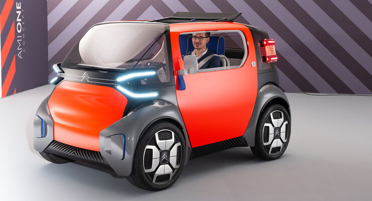 citro n ami one concept genfer autosalon 2019 auto motor. Black Bedroom Furniture Sets. Home Design Ideas
